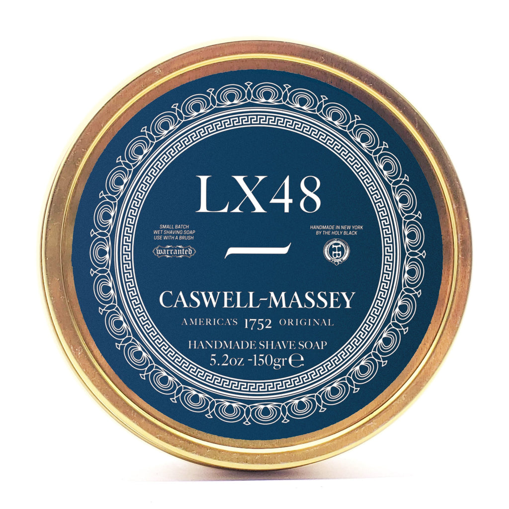 Caswell-Massey LX48 SHAVE SOAP IN TIN