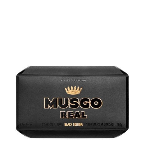 Claus Porto Musgo Real - Black Edition - Soap On The Rope 6.7 oz