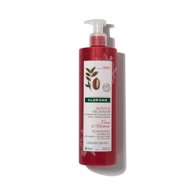 Klorane HIBISCUS FLOWER SHOWER GEL WITH CUPUAÇU BUTTER