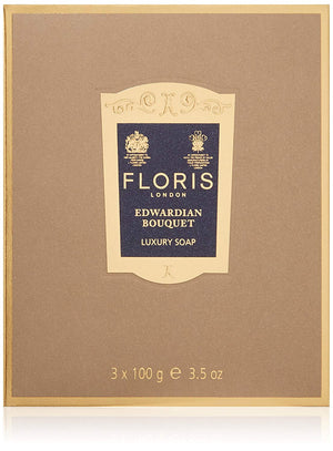 Floris London Edwardian Bouquet Luxury Soap 3-Pack