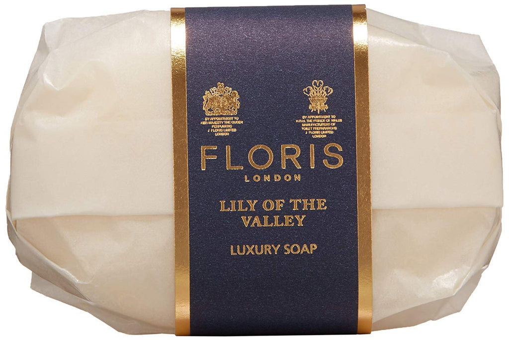 Floris London Lily Of The Valley Luxury Soap 3-Pack