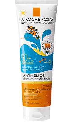 ANTHELIOS DERMO-PEDIATRICS WET SKIN GEL LOTION SPF50+ 250ml