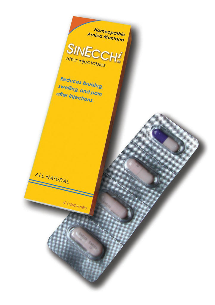 SINECCHi™ for Bruising and Swelling Relief after BOTOX®, Dermal Fillers and Minor Procedures