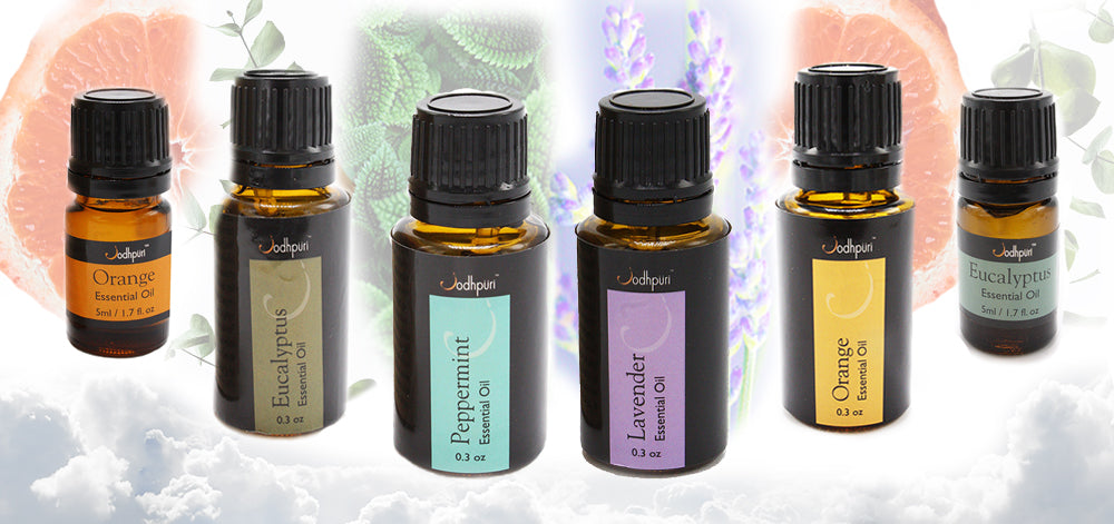 4 ESSENTIAL OILS AND THEIR NATURAL BENEFITS