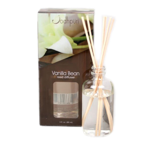 Mini Acetate Reed Diffusers - Vanilla Bean - Jodhshop