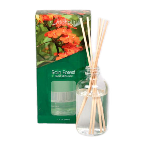 Mini Acetate Reed Diffusers - Rain Forest - Jodhshop