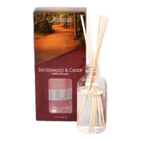 Mini Acetate Reed Diffusers - Sandalwood and Cedar - Jodhshop