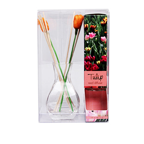 Tropical Breeze Diffuser with Tulip Reeds - 3 oz