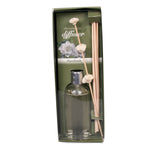 Decorative Gardenia Oil Diffuser with Reeds - 7 ounces - Jodhshop