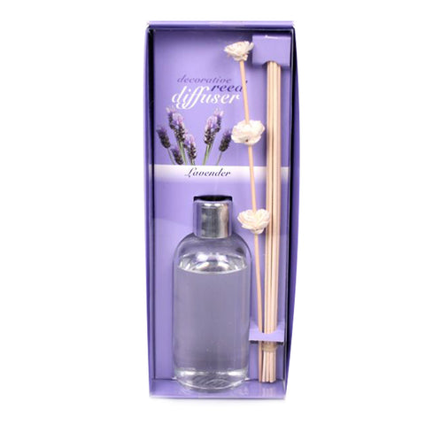 Decorative Lavender Oil Diffusers with Reeds - 7 ounces - Jodhshop