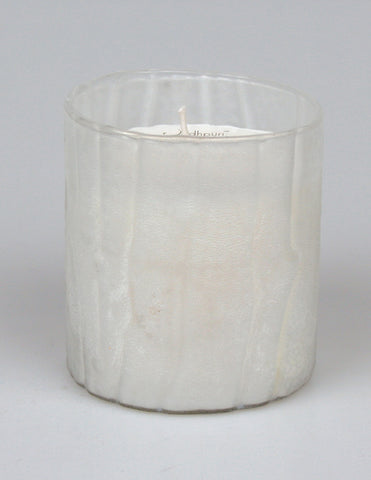 Moroccan Rose Scented Candle with Wavy Salt Finish - 8 ounce - Jodhshop