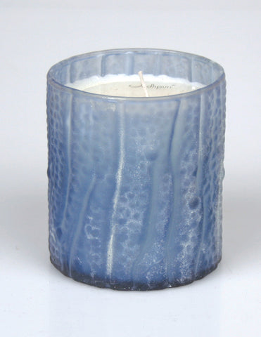 Coastal Breeze Scented Candle with Wavy Salt Finish - 8 ounce - Jodhshop