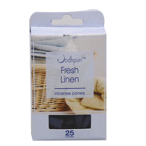 Fresh Linen Incense Cones - 300 Cones - Jodhshop