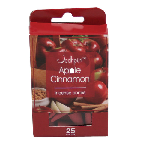 Apple Cinnamon Incense Cones - 300 Cones - Jodhshop