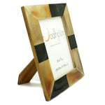 Brown Patch Horn Frame - 5 x 7 inches - Jodhshop