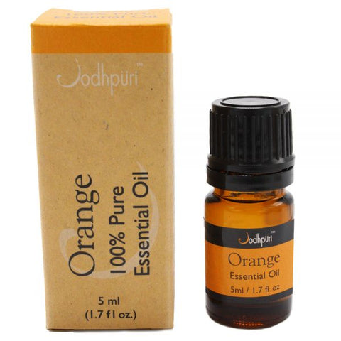 100% Pure Essential Oils Orange (5mL) - Jodhshop