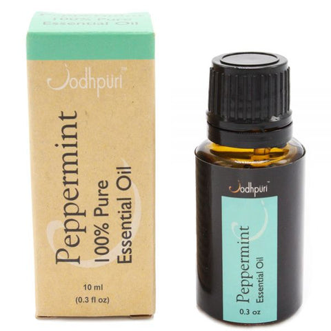 100% Pure Peppermint Essential Oils (10mL) - Jodhshop