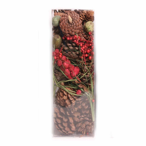 Boxed Natural Pine Cones - 16 ounces - Jodhshop