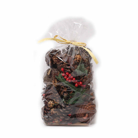 Cinnamon Scented Nautral Pine Cones - 8 ounces - Jodhshop