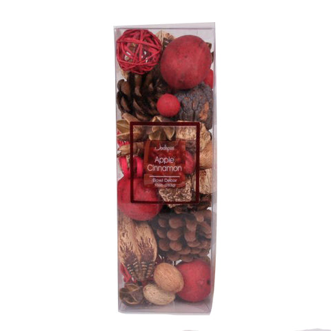Apple Cinnamon Bowl Decor (10 oz. box) - Jodhpuri Online