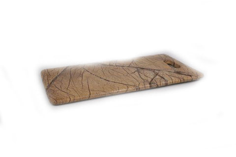 Brown Forest Marble Rectangular Cheese Board - 18 x 9 inches - Jodhshop