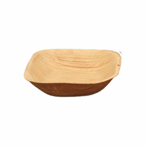 Areca Leaf Square 4 x 4 inch Serving Dish - 50/Pack - Jodhshop
