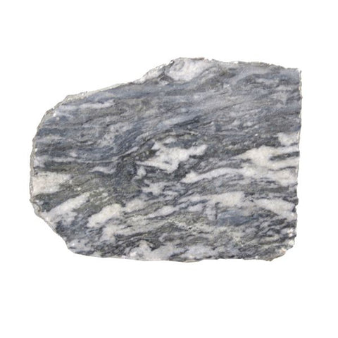 Grey Marble Platter Irregular Edge with Silver Foil - 8 to 10 inches - Jodhshop