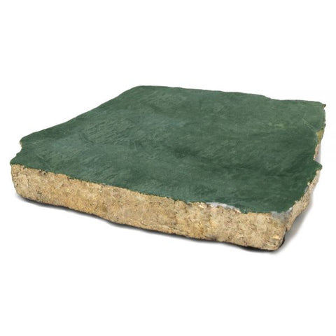 65055: Organic Shape Green Marble Coaster with Gold Foil (Individual Piece) - 4 to 5 inches - Jodhshop