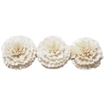 Sola Carnation Flower - 3.4in / 3pack - Jodhshop