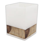 Alabaster and Wood Tumbler - Jodhshop