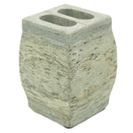 Marble Toothbrush Holder with Stowe Slate Finish - 3 x 4 inches - Jodhshop