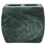 Marble Toothbrush Holder with Dover Slate Finish - Jodhshop