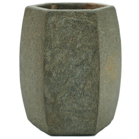 Marble Bathroom Tumbler with Rocky Slate Finish - Jodhshop
