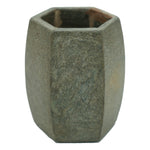 Marble Bathroom Tumbler with Rocky Slate Finish - 2.8 x 2.8 x 4 inches - Jodhshop