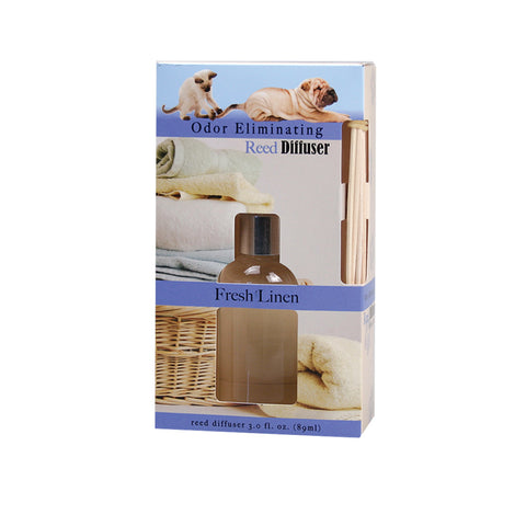 Odor Eliminating Reed Diffuser - Fresh Linen - Jodhshop