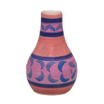 Violet Ceramic Vase - 2.75 x 2.75 x 4.5 inches - Jodhshop