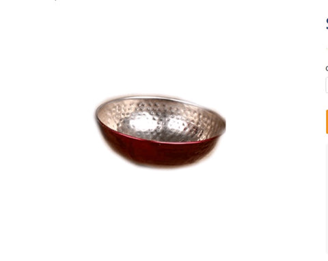 Red Shiny Bowl - Jodhshop