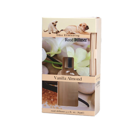 Odor Eliminating Reed Diffuser - Vanilla Almond - Jodhshop