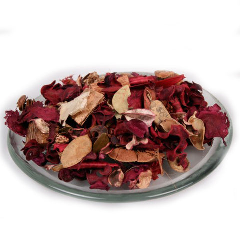 Red Bulk (2lbs) Unscented Potpourri Blend - Jodhshop