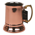 Stainless Steel Beer Tankard with Copper Finish - 16 oz - Jodhpuri Online