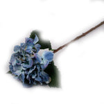 """Cotton Blue"" Hydrangea Artificial Floral Stems - Jodhshop"