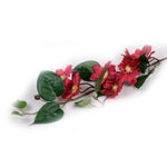 """Fuschia"" Star Clematis Artificial Floral Stem - Jodhshop"