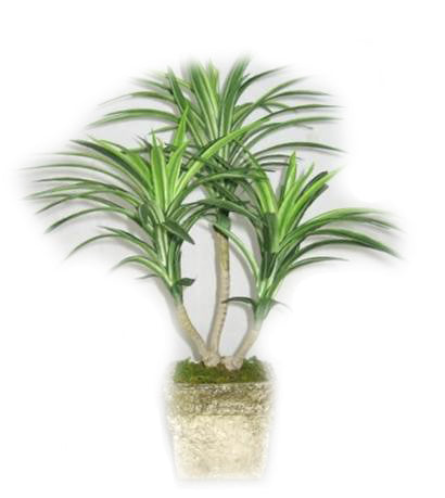 Yucca Artificial Plant in Pot - 16 inches - Jodhshop