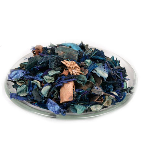 Blue Unscented Potpourri Blend - Bulk (2lbs) - Jodhshop