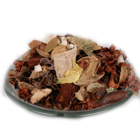 Brown Unscented Potpourri Blend - Bulk (2lbs) - Jodhshop