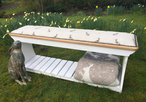 Hartley Hare Boot Rack Bench