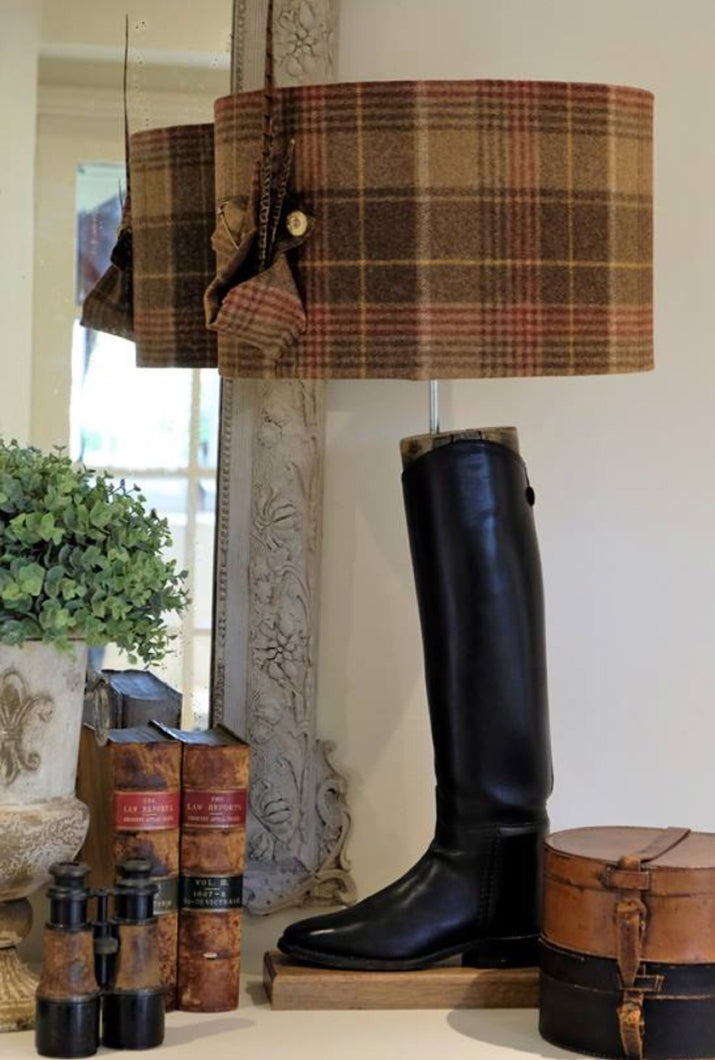 Hunting Boot Lamp