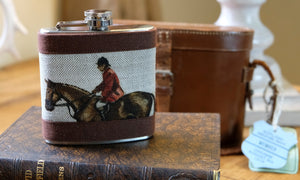 Master of Hounds Hip Flask