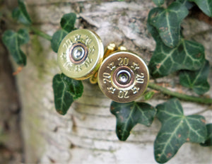 Brass Cartridge Cufflinks