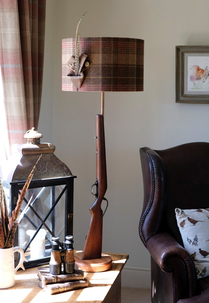 Gun Tall Table Lamp.
